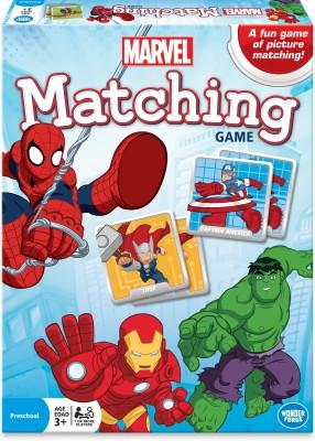 Disney Marvel Matching Game Wonder Forge