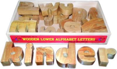 Kinder Creative Wooden Lower Alphabet Block Set