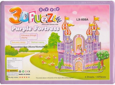 DreamBag 3D Puzzle of Pink Fortress