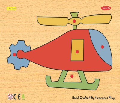 Learner's Play Helicopter Knob Puzzle