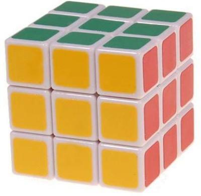 Smiles Creation Magic 3x3x3 White Stickerless Rubik's Cube