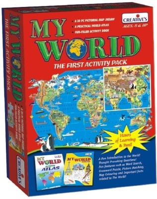 Creative Education My World The First Activity Pack(30 Pieces)