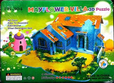 UniqueToys Super 3D Puzzle Mayflower Villa