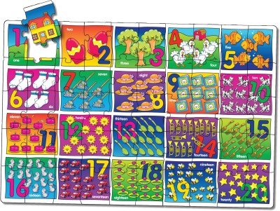 The Learning Journey Puzzle Doubles - Let's Learn Numbers