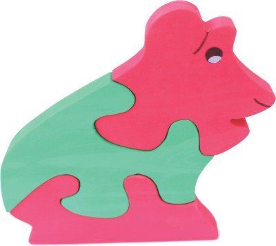 Enigmatic Woodworks Wooden Jigsaw Puzzle - Frog