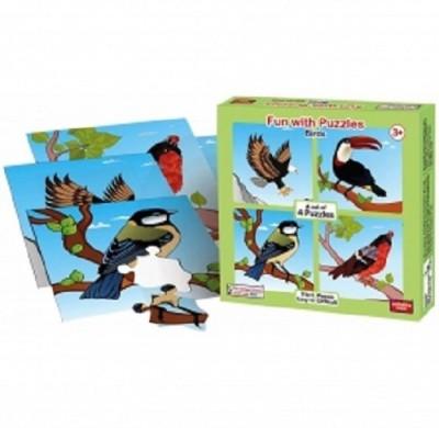 ANINDITA TOYS FUN WITH PUZZLES BIRDS - FWP-BR