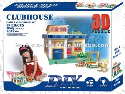 Duiken 3D Puzzle - Club House