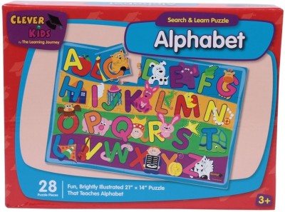 Learning Journey Search & Learn Alphabet