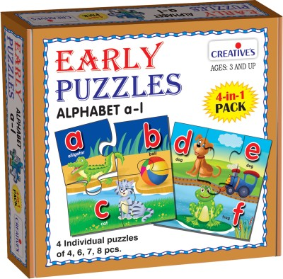 Creative's Early Puzzles Alphabet a to l