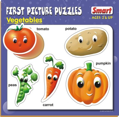 Smart First Picture Puzzles - Vegetables