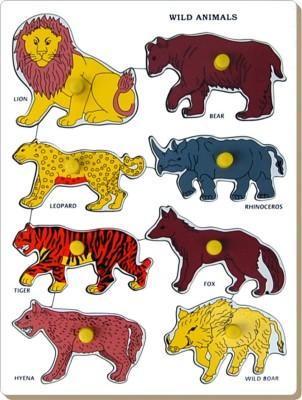 Little Genius Wild Animals Tray