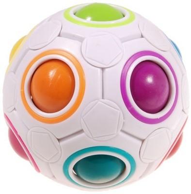 ShopperBay YJ Rainbow Ball Football Magic Speed Cube