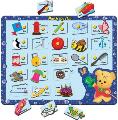 Prasima Toys Match the Pair Puzzle