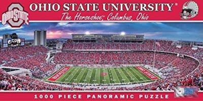 Masterpieces NCAA Ohio State Buckeyes Stadium Panoramic Jigsaw (1000-Piece)