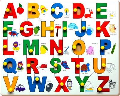 Little Genius Alphabet Picture Match with Knob