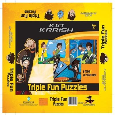 BPI TRIPPLE FUN PUZZLE - KID KRISH
