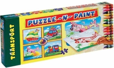 Sunny Puzzle N Paint Transport