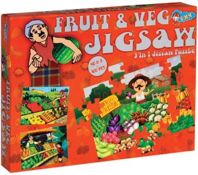 Sunny New Jigsaw Fruit & Veg