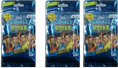 Topps Cricket Attax Multipack Combo(3pkt)(2014/15)