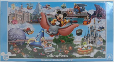 Disney Parks Panoramic 500 Piece Puzzle