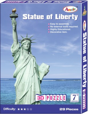 Annie Statue of Liberty 3D Puzzle