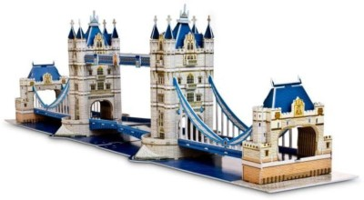 Lionsland Tower Bridge London 3D Puzzle