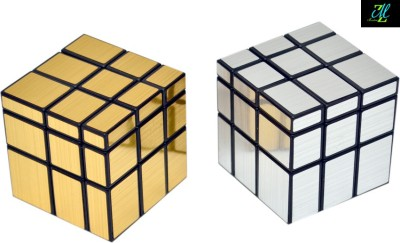 Montez Shengshou Silver And Golden Mirror Cube Combo