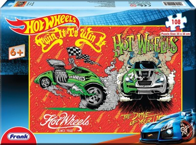 Frank Hot Wheels 108 Pc Puzzles