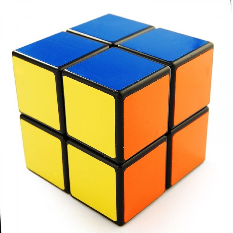 Stylezit Speed Cube 2x2 Black(1 Pieces)
