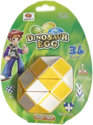 ShopperBay Mega Snake 36 Piece Puzzle Yellow