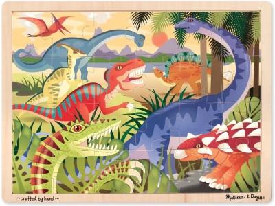Melissa & Doug Dinosaur Jigsaw