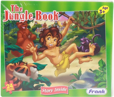 Frank The Jungle Book Story Puzzle