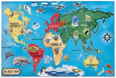 Melissa & Doug World Map Floor
