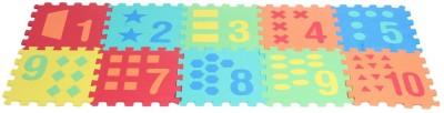 Kiddy 10Pcs Number Puzzle Mat (0-9) PMS-9001