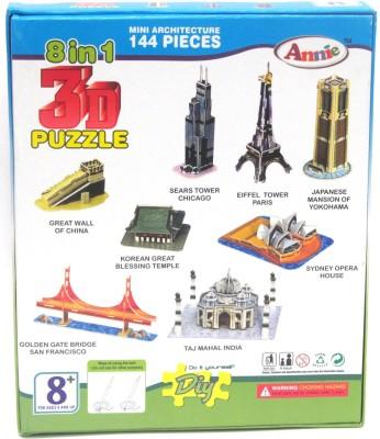 Lotus Annie 8 in 1 3D Puzzle