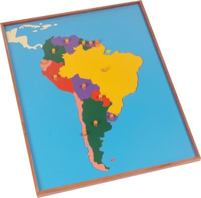 Kidken Montessori Map Puzzle: South America
