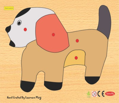 Learner's Play Dog Knob Puzzle