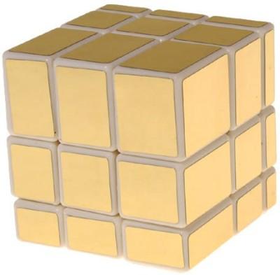 ShopperBay Mirror Cube Gold In White