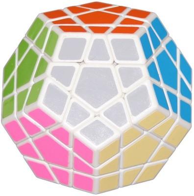 ShopperBay Shengshou Megaminx White Puzzle Speed Cube