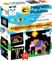 Play Panda Magnetic Puzzles : Squares (500 Magnets)(500 Pieces)