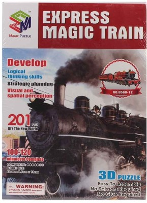Magic Puzzle Express Magic Train 3D Puzzle
