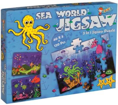 Sunny New Jigsaw Sea Saw