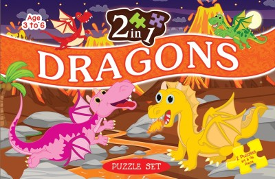 ART FACTORY 2 IN 1 DRAGONS