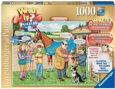 Ravensburger The Racehorse What If? Puzzle