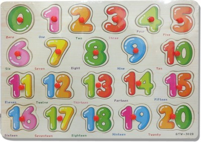 DCS Junior numbers with knob