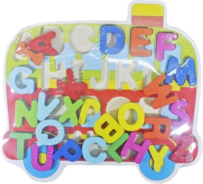 Babysid Collections Wooden Puzzles Alphabets Set