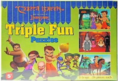 Chhota Bheem Tripple Fun