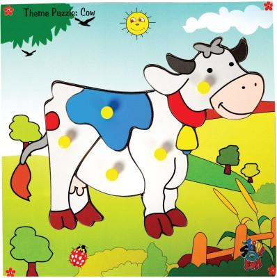 Skillofun Skillofun Theme Puzzle Standard - Jersey Cow