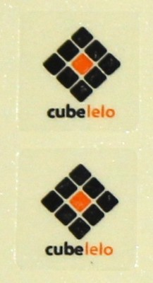 Cubelelo Logo Sticker for Rubik's Cube and Puzzles