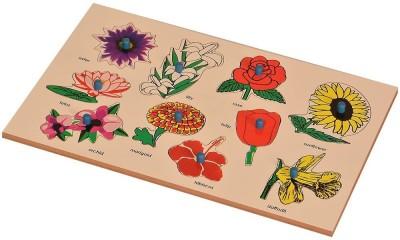 Kidken Montessori Flowers Inset Board